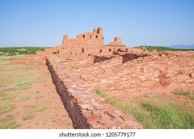 Salinas Pueblo Missions National Monument, Abó Ruins, New Mexico, USA
