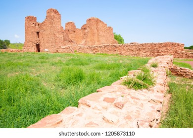 Salinas Pueblo Missions National Monument, Quarai Ruins, New Mexico, USA