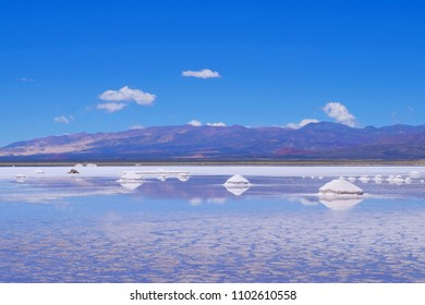 Salinas Salitral Grandes, great salt lake desert, near Susques, Jujuy Province, Argentina, South America