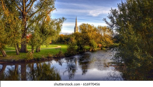 Salisbury Cathedral, Wiltshire UK