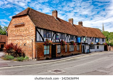 Salisbury, Wiltshire / UK - August 1 2017: The Legacy Rose & Crown Hotel, Harnham Road, Salisbury, Wiltshire, United Kingdom.