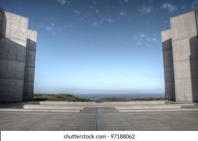 Salk Institute near UCSD, La Jolla, San Diego, CA