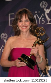 Sally Field in the press room at the 59th Annual Primetime Emmy Awards. The Shrine Auditorium, Los Angeles, CA. 09-16-07