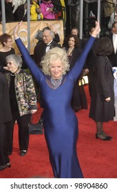 SALLY KIRKLAND at the 10th Annual Screen Actors Guild Awards in Los Angeles. February 22, 2004