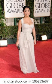 Salma Hayek at the 66th Annual Golden Globe Awards. Beverly Hilton Hotel, Beverly Hills, CA. 01-11-09