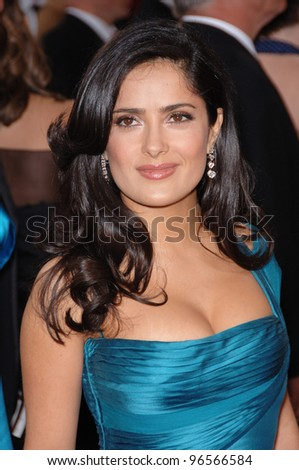 SALMA HAYEK At The 78th Annual Academy Awards Kodak Theatre In Hollywood March