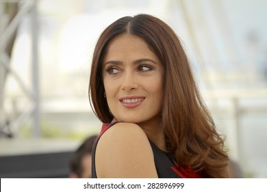 Salma Hayek  attends the 'Il Racconto Dei Racconti' ('Tale of Tales') photocall during the 68th annual Cannes Film Festival on May 14, 2015 in Cannes, France.