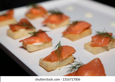 Salmon Crouton and Cream Cheese