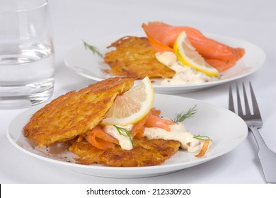 salmon hash browns