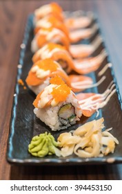 salmon maki - japanese food