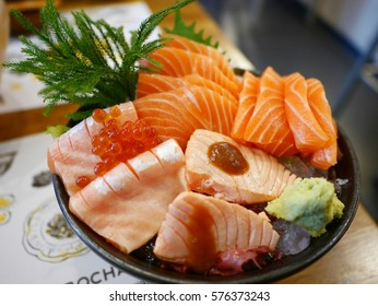 Salmon Sashimi Set