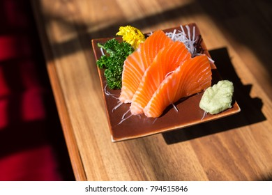 Salmon Sashimi Sushi