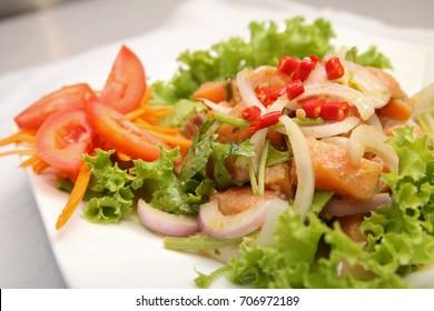 Salmon Spicy