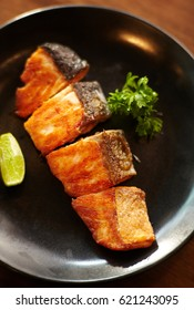 salmon teriyeki ,salmon grill with japanese style sauce