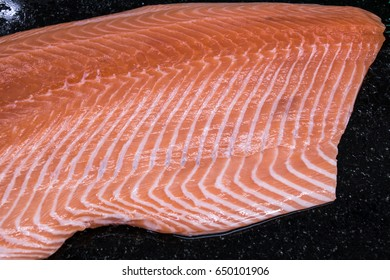salmon is very oily with omega 3