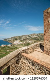 Salobrena resort coastline as seen from its castle