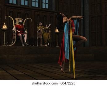 Salome dances for Herod