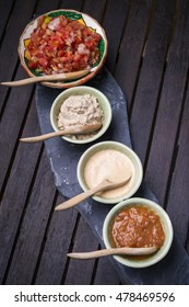 Salsa and other Mexican dips