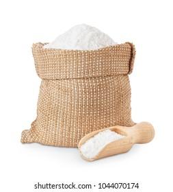 salt in bag and scoop