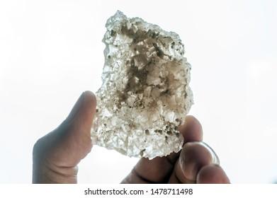 salt crystals as ore, chloride