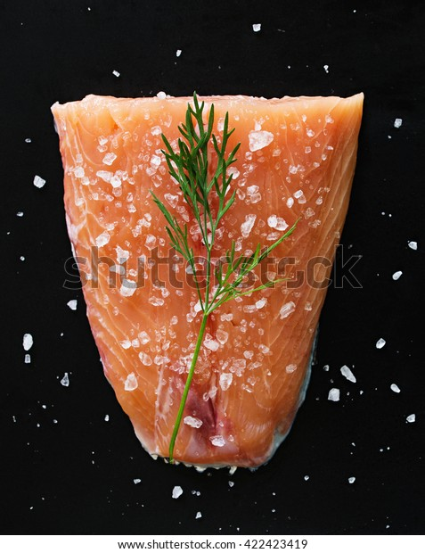 för salt gravad lax