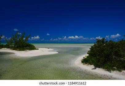 Salt Heap Point on Anegada, British Virgin Islands.