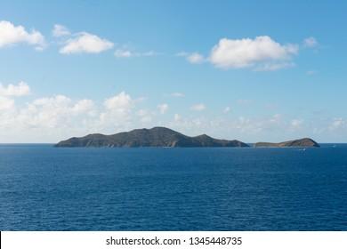 Salt Island and Cooper Island, British Virgin Islands