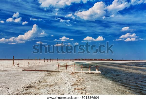 Salt Lake Baskunchak, Russia