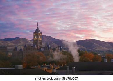 Salt Lake City and County Building in Salt Lake City, Utah.