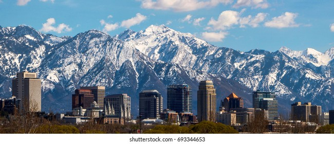 Salt Lake City panoramic