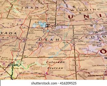 Utah Map Images Stock Photos Vectors Shutterstock