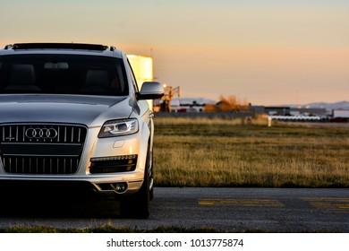Salt Lake City, UT/USA - March 9 2017: Audi Q7