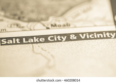 Salt Lake City & Vicinity. Utah. USA