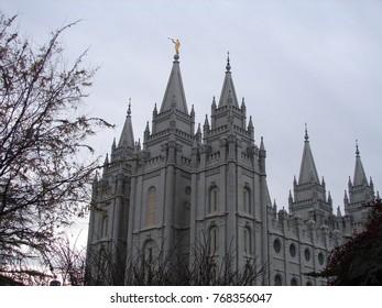 Salt Lake Temple, Mormon Temple, Salt Lake City Utah