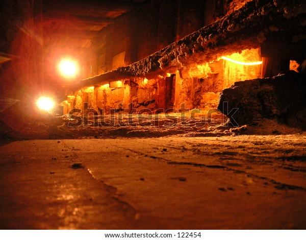 Salt mine outside Krakow, Poland.