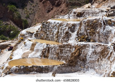 Salt Mining in Cuzco Region
