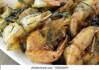Salt and pepper Fried shrimp