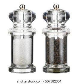 Salt and pepper mill grinders