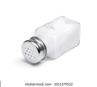 Salt shaker isolated on white background