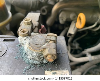 Car Battery Corrosion Images, Stock Photos & Vectors