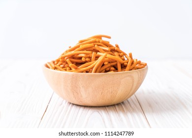 salt stick biscuit in bowl