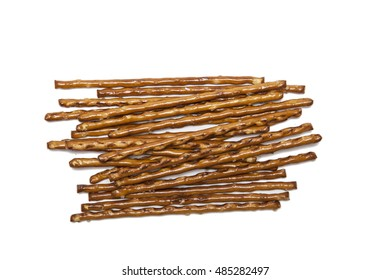 Salt sticks isolated