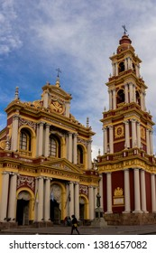 Salta, Argentina. May 22, 2017. Church and Convent of San Francisco in the city of Salta.