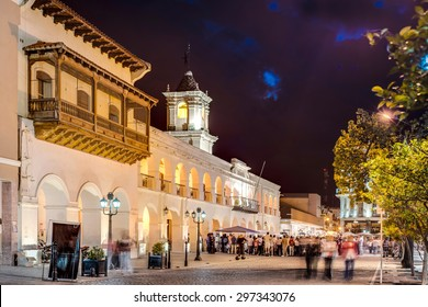 The Salta Cabildo, a colonial building in Salta, Argentina
