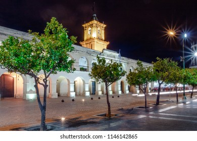 Salta Cabildo at night - Salta, Argentina