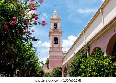 Salta/Salta/Argentina - 11/01/2019: Cathedral Basilica of Salta