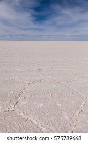 Salt-desert of Uyuni, Bolivia.