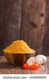 Salted egg yolk made from duck eggs