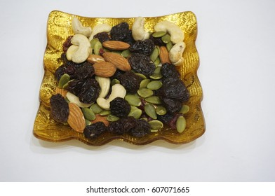 Salted Nuts and Dried Berries