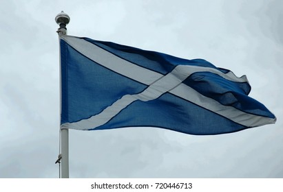 The Saltire - flag of Scotland